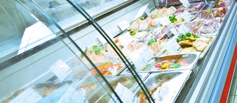 Commercial Refrigeration Display Unit